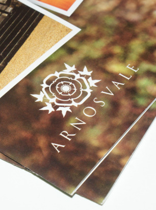 Arnos Vale wedding brochure design