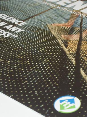 ITF Agenda Magazine design