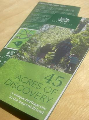 Visitors trail map DL leaflet
